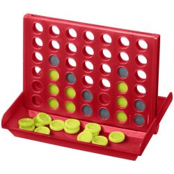 Luke 4-in-a-row game, PP plastic, Red