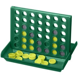 Luke 4-in-a-row game, PP plastic, Green
