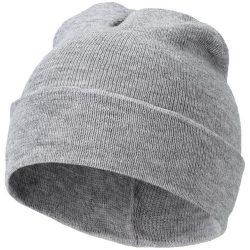 Irwin beanie, Unisex, 1x1 Rib knit of 100% Acrylic, Grey melange