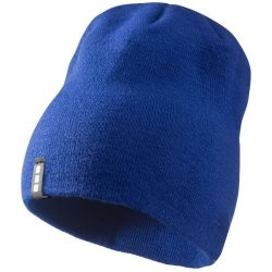 Level beanie, Unisex, 1x1 Rib knit of 100% Acrylic, Royal blue