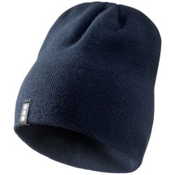 Level beanie, Unisex, 1x1 Rib knit of 100% Acrylic, Navy