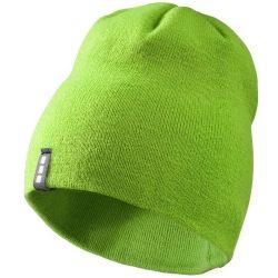 Level beanie, Unisex, 1x1 Rib knit of 100% Acrylic, Green