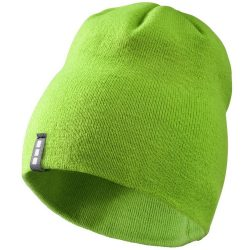 Level beanie, Unisex, 1x1 Rib knit of 100% Acrylic, Green