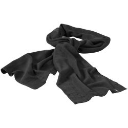 Mark scarf, Unisex, 1x1 Rib knit of 100% Acrylic, Grey