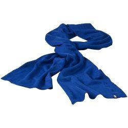 Mark scarf, Unisex, 1x1 Rib knit of 100% Acrylic, Royal blue
