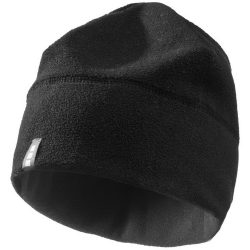 Caliber hat, Unisex, Fleece of 100% Polyester, 2 sides brushed, 2 sides anti-pilling, solid black