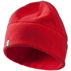 Caliber hat, Unisex, Fleece of 100% Polyester, 2 sides brushed, 2 sides anti-pilling, Red