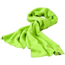 Redwood scarf, Unisex, Fleece of 100% Polyester, 2 sides brushed, 2 sides anti-pilling, Green