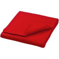 Columbus scarf, Unisex, 1x1 Rib knit of 100% Acrylic, Red
