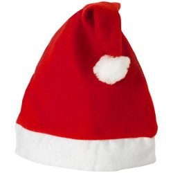 Christmas Hat, Felt, Red,White