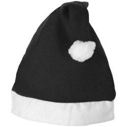Christmas Hat, Felt, solid black,White