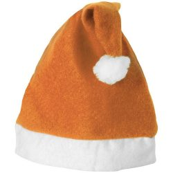 Christmas Hat, Felt, Orange,White