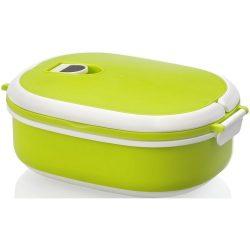 Caserola pranz, 750 ml, Everestus, CAE12, plastic, cauciuc, verde, alb