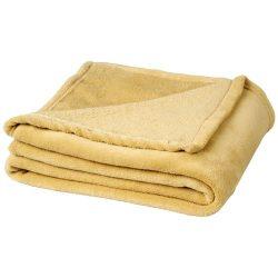 Bay extra soft coral fleece plaid blanket, 240 g/m² Polar fleece,  Cream