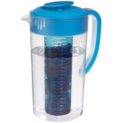 Ulcior bauturi cu infuzor de fructe, Everestus, PE, bpa free, as plastic, transparent