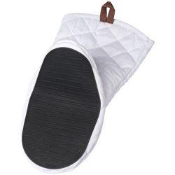 Manusa de bucatarie pentru cuptor, bumbac, Everestus, MBE01, alb, saculet de calatorie inclus