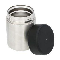 Recipient termoizolant pentru hrana, Everestus, VM, otel inoxidabil si cupru, argintiu, saculet de calatorie inclus
