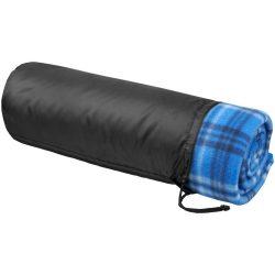Patura picnic tartan 150x125 cm, Everestus, ST01, poliester, albastru, saculet de calatorie inclus