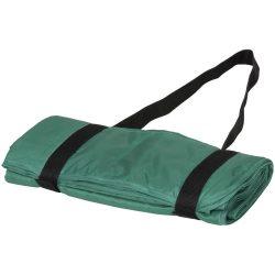 Patura picnic tartan 145x122 cm, cu maner de prindere, Everestus, RR04, poliester, verde, saculet de calatorie inclus