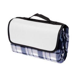 Patura picnic clasica, cu maner, 120x135 cm, Everestus, JU098, lana, gri