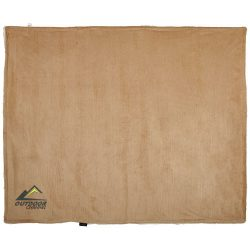 Patura super moale si confortabila 128x154 cm, Field & Co by AleXer, 20IAN147, Poliester, Maro