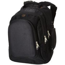 Rucsac Laptop, Everestus, NC, 15.4 inch, 840D nylon, negru, saculet de calatorie si eticheta bagaj incluse