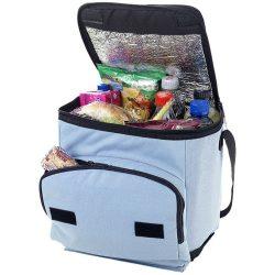 Stockholm foldable cooler bag, 600D Polyester, Ocean blue
