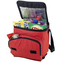 Stockholm foldable cooler bag, 600D Polyester, Red
