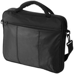 Geanta de conferinte si Laptop, Everestus, DH, 15.4 inch, 420D nylon si microfibra, negru, saculet si eticheta bagaj incluse