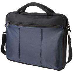 Geanta de conferinte si Laptop, Everestus, DH, 15.4 inch, 420D nylon si microfibra, albastru, saculet si eticheta bagaj incluse