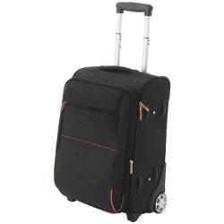 Airporter carry-on trolley, 1680D Polyester, solid black