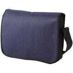 Mission non-woven messenger bag, Non woven 130 g/m² Polypropylene, Navy