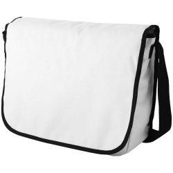 Geanta de Postas, Everestus, MU, 600D poliester, alb, saculet de calatorie si eticheta bagaj incluse