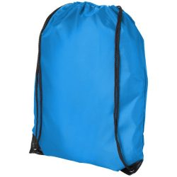 Oriole premium drawstring backpack, 210D Polyester, Process Blue