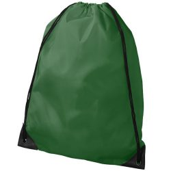 Oriole premium drawstring backpack, 210D Polyester, Bright green