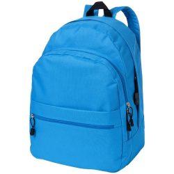 Rucsac confortabil, curele ajustabile, buzunar frontal, Everestus, TD, poliester, albastru aqua, sac si eticheta incluse