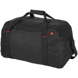 Geanta de umar de voiaj, Everestus, VR, 600D poliester, negru, saculet de calatorie si eticheta bagaj incluse