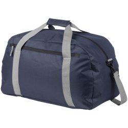 Geanta de umar de voiaj, Everestus, VR, 600D poliester, albastru navy, saculet de calatorie si eticheta bagaj incluse