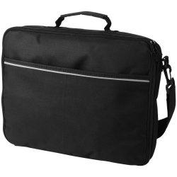 Servieta Laptop, Everestus, KS, 15.4 inch, 600D poliester, negru, saculet de calatorie si eticheta bagaj incluse