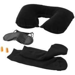 Set de calatorie, Everestus, TO, pvc, negru