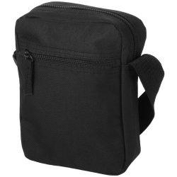 New-york messenger bag, 600D Polyester, solid black