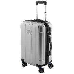 "Spinner 20"" carry-on trolley, Polycarbonate and ABS, Silver"