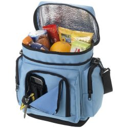 Helsinki cooler bag, 600D Polyester, Light blue