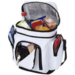 Helsinki cooler bag, 600D Polyester, White