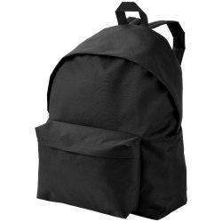 Urban backpack, 600D Polyester, solid black
