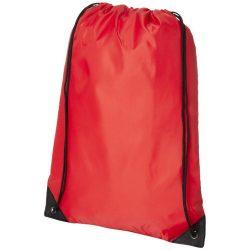 Saculet simplu si functional, polipropilena, poliester 210D, Everestus, 8IA19035, rosu, eticheta de bagaj inclusa