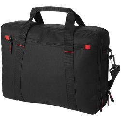 Servieta Laptop, Everestus, VR, 15.4 inch, 600D poliester, negru, saculet de calatorie si eticheta bagaj incluse