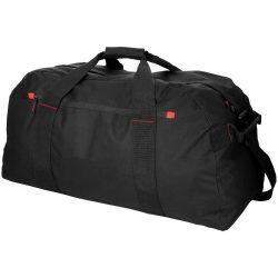 Geanta de umar mare, de voiaj, Everestus, VR, 600D poliester, negru, saculet de calatorie si eticheta bagaj incluse