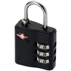Lacat cu cifru pentru bagaj, Everestus, KD01, metal, negru