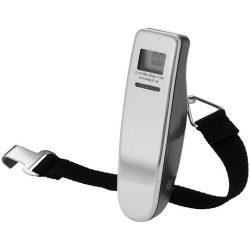 Newark digital luggage scale, ABS plastic and metal, Silver